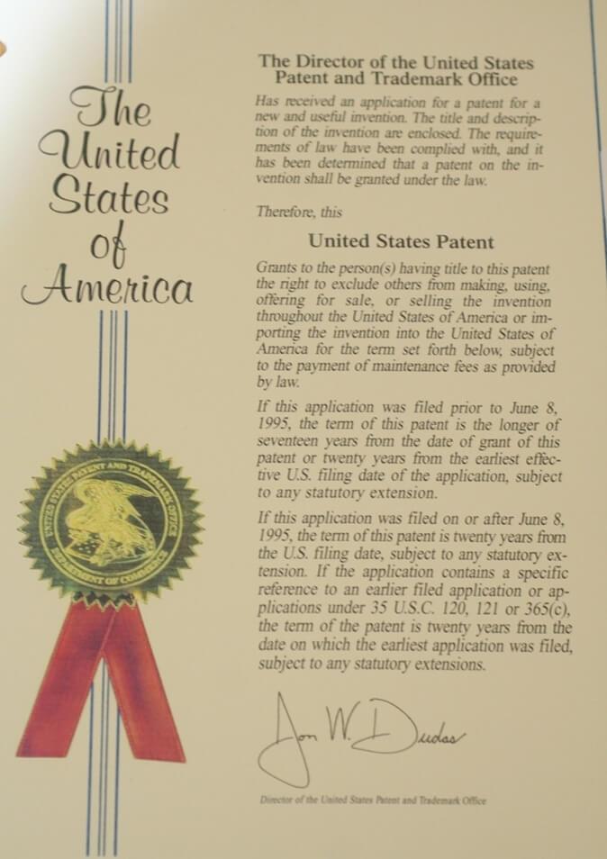 united states patent 1